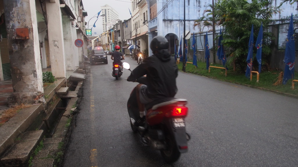 Motorbiking around Penang