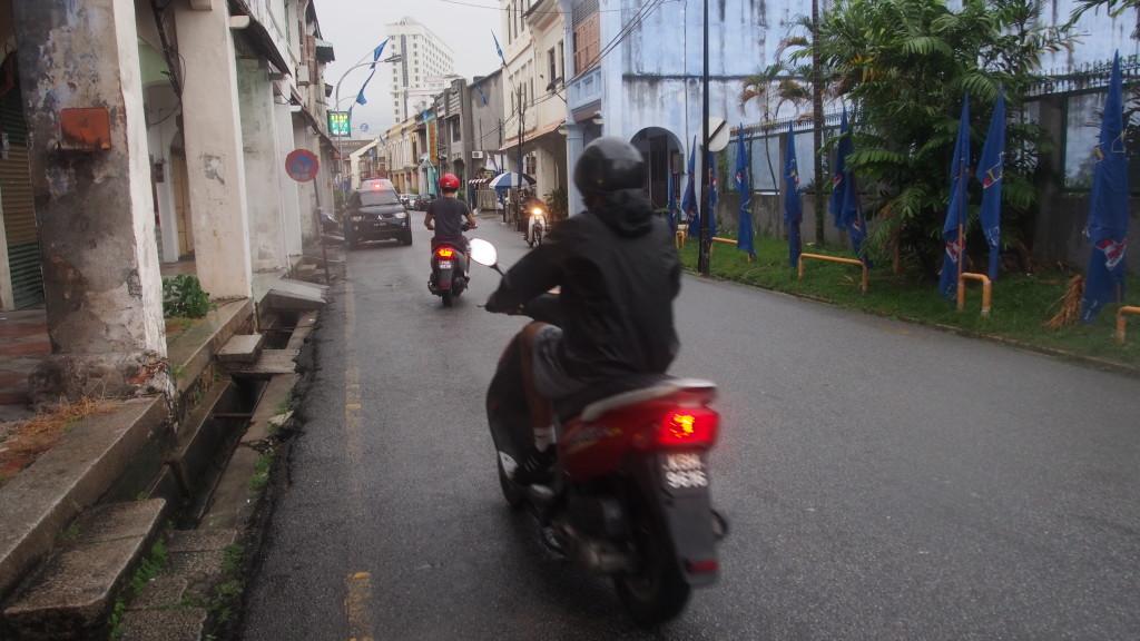 Motorbiking around Penang