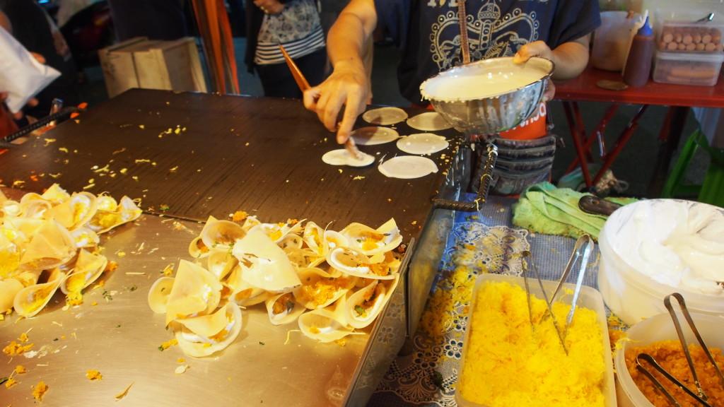 Thai pancakes