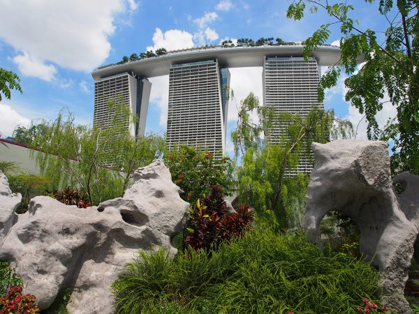 Places like The Marina Bay Sands, and other fancy places will have Western toilets. Some older places, non-tourist buildings, or even the train stations will also have the option of a squat toilet.