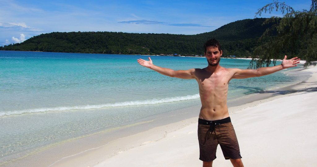 F***Yeah, we made it to 7km beach - remote, and clean, what more could we ask for!