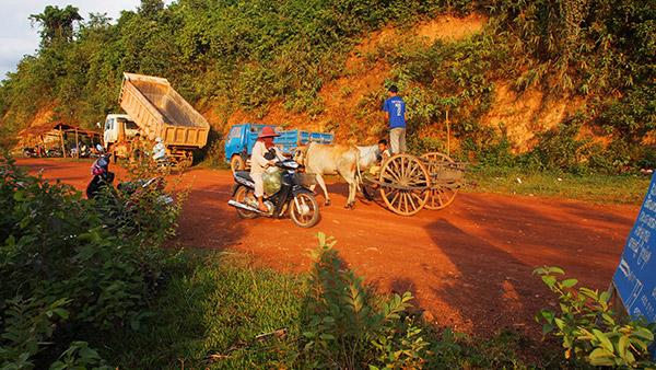 Roads in Kampot Cambodia