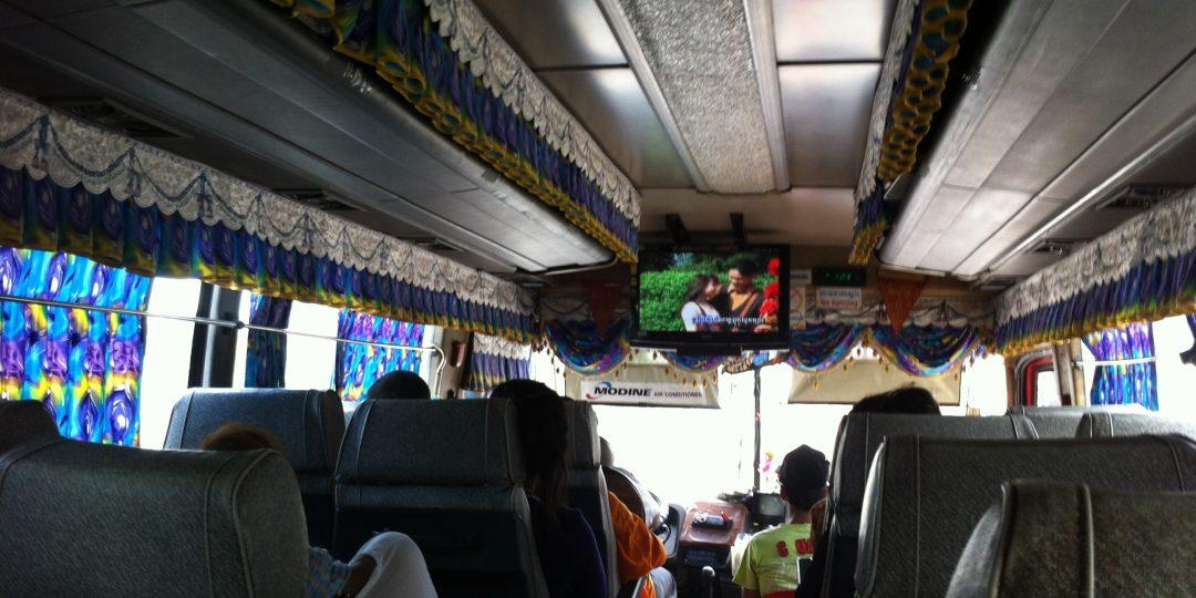 Karaoke on a Bus
