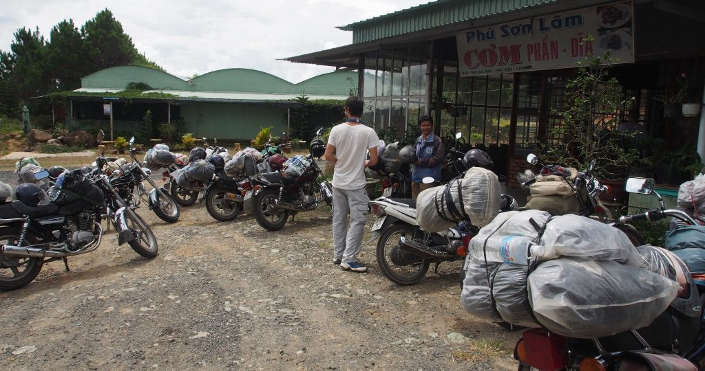 The 1st Day on the roads was the busiest with other Easy Riders, with most people either doing a day trip around Dalat or heading to Nha Trang.  This was clearly the lunch place for Easy Riders!