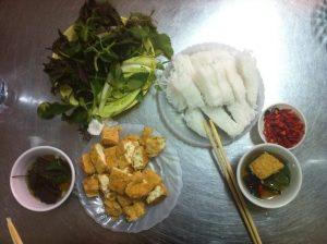 2 Hanoi Fried Tofu Dish
