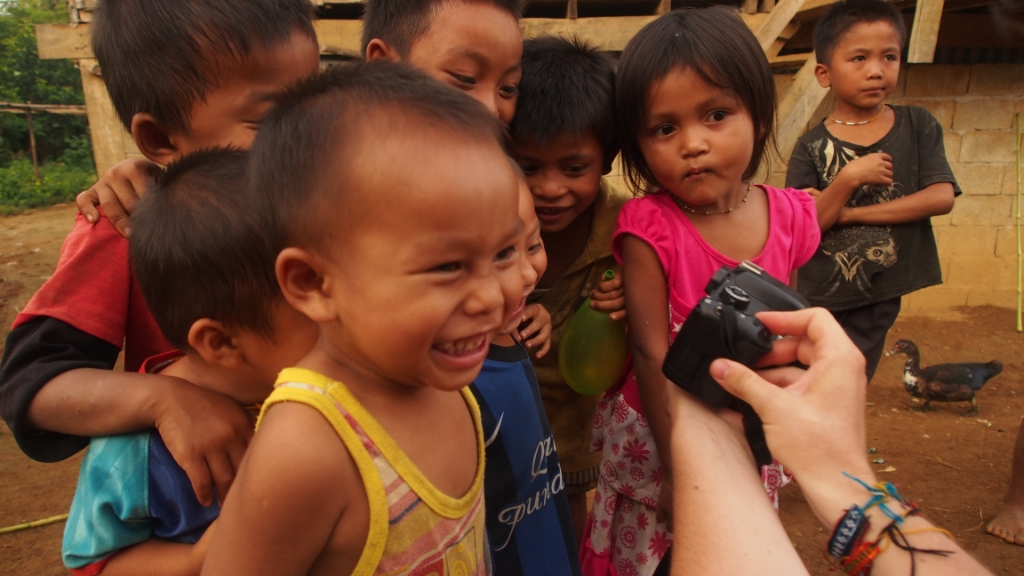 The children loved the camera, and the camera definitely loved them.