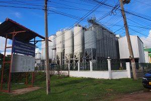 Beer Lao Factory Giant Metal Vets