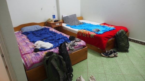 A mouldy room in Pleiku