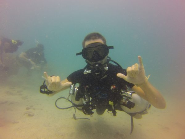 Lionel with Sidemount gear