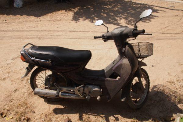 Our Koh Tao bike