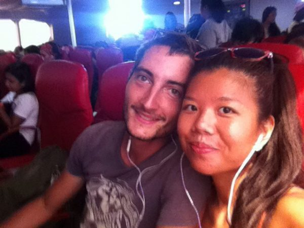 It started with a trip on the Lomprayah Ferry from Koh Tao to Chumpon.