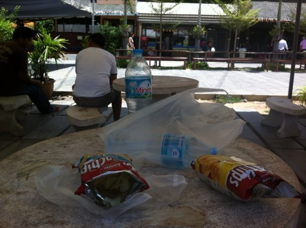 Waited for the Lomprayah bus, ate some chips. Standard.