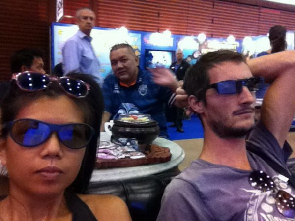 Where we watched a 3D whale shark show..