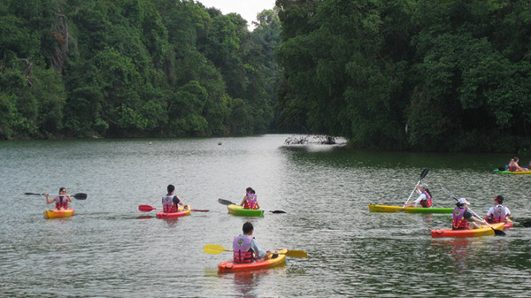 Kayaking in Singapore